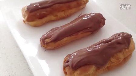 巧克力闪电泡芙和奶油泡芙[HowToCookThat]