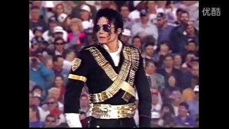 迈克尔杰克逊1993年超级碗表演全程