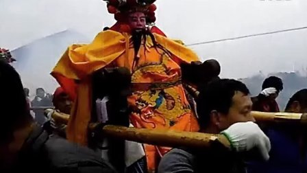 2014年安庆市望江县赛口镇汪洋村长方屋抬老爷(保佑全家平安)