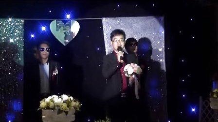 洛阳司仪培训中原帅哥主持人永峰主持自己的婚礼震撼开场