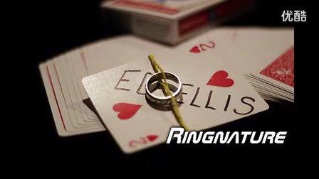 迪龙魔术2012T11最新即兴戒指找签名牌教学(无密码)