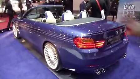 2014日内瓦车展实拍 宝马BMW Alpina B4 BiTurbo Convertible
