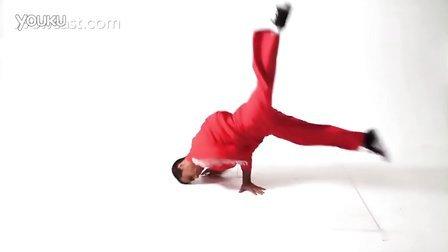 【粉红豹】街舞教学(9)BBOY练Breaking_怎样用风车接托马斯