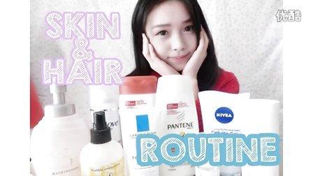 【梁吉娜】日常头发、皮肤使用产品分享