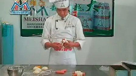 面包蛋糕制作技术视频教程
