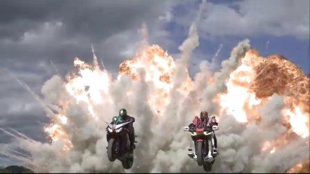 假面骑士2010剧场版:decade完结篇and假面骑士W(无字幕)