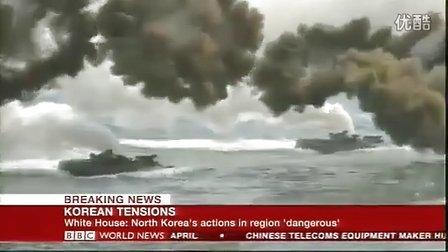 朝鲜又开炮,韩国马上还击,双方又给颜色看看了。