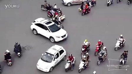 狂热之城 胡志明市的交通 Traffic in Frenetic HCMC, Vietnam