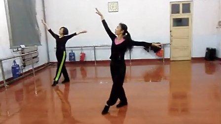 学跳舞蹈 呼伦贝尔大草原