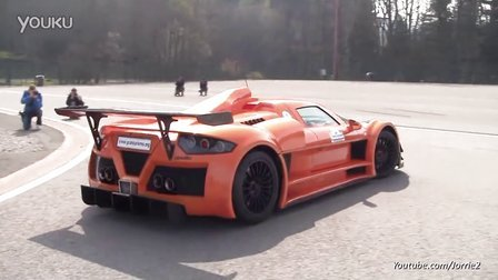 Gumpert Apollo Sport Loud Acceleration! Too loud