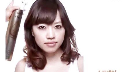 韩国专业时尚发型设计之刘海卷发适合圆脸胖脸