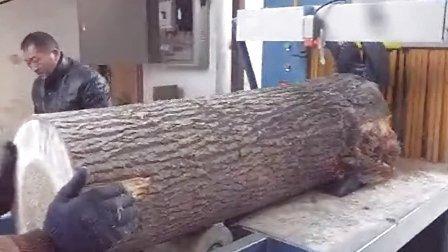 原木多片锯400型  方木150多片锯 河南郑州市加工现场1