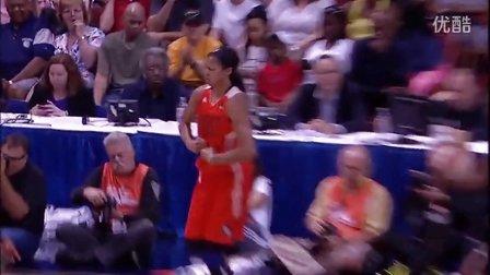 女飞人帕克荣膺2013年WNBA全明星赛MVP