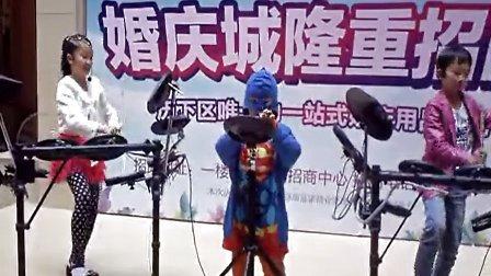 中国范手风琴法双排三排键电子琴合成器电子架子鼓声效盘