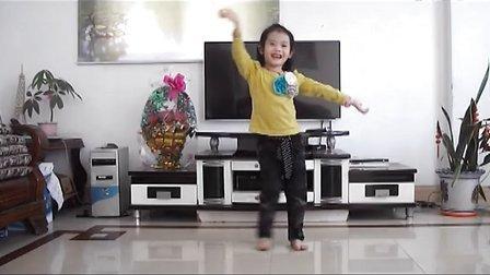 快乐星猫-儿童幼儿舞蹈(高清版)-小景宜 2014-04-27