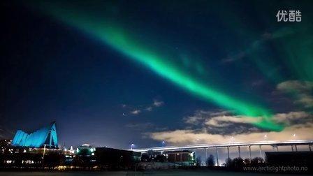 延时摄影:极北之光