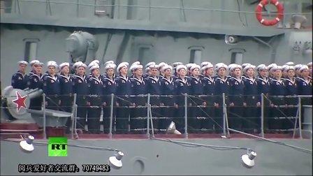 【普京亲阅】2014年5月9日俄罗斯塞瓦斯托波尔纪念卫国战争胜利69周年阅兵(海上检阅及空中分列式)