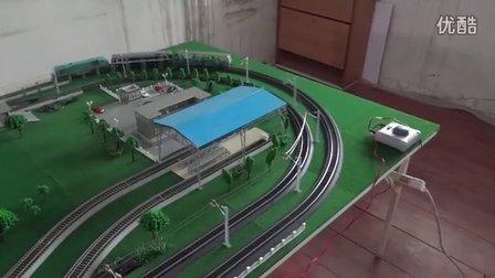 京局的内燃机车3机重联上线运行