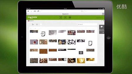 Magnolia CMS 视频简介:使用iPad操作