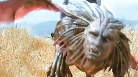 人类大战狮身人面兽