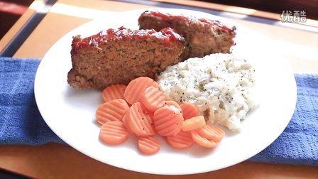 《宅男美食》57集美式烤牛肉糜饼(Meatloaf)