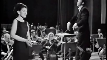 Maria Callas演唱普契尼歌剧选段 O mio bambino caro