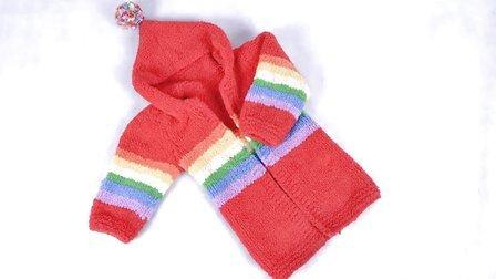89集-彩虹大衣编织教程第一集欢迎大家收看娟娟编织织法视频