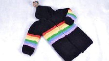90集-彩虹大衣编织教程第二集欢迎大家收看娟娟编织如何织