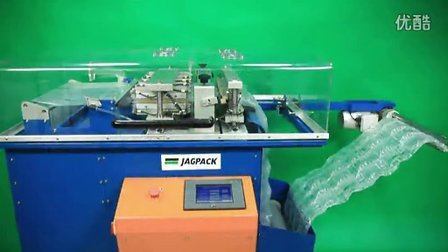 建技包装JAGAPCK JP600缓冲气垫机操作视频(VIDEO)