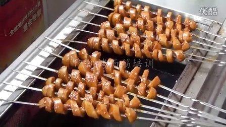 河南小吃培训哪家好烤面筋酱料配方的做法烤面筋配料