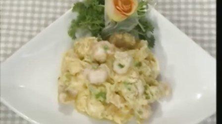 滑蛋鲜虾仁 粤菜 八大菜系 正宗的做法 视频教程 制作方法