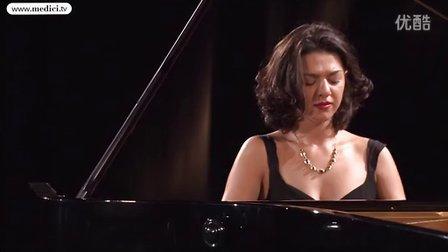 Khatia Buniatishvili演奏舒伯特小夜曲S.558-2013韦尔比耶音乐节