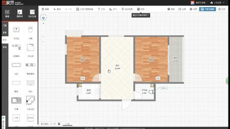 酷家乐平面图基础教程(如何画出一个受设计师认可的标准户型图)
