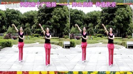 沅陵燕子广场舞《再唱山歌给党听》(附背面演示)