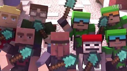 [Youtube]-Minecraft 挖雪块游戏