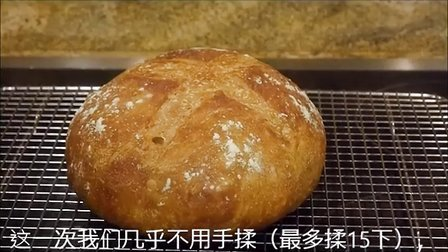 优雅烘焙 2015 Almost no knead bread几乎不用揉的面包 33