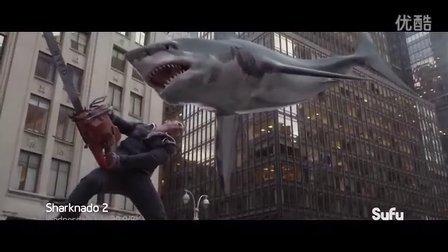 《鲨卷风2》嗜血大白鲨空降纽约城