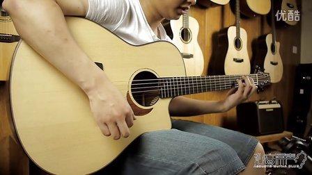 Yokoyama 横山正 手工吉他评测 德国云杉 克拉罗胡桃木