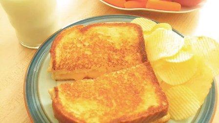 学做饭:烤奶酪三明治的详细的做法,不一样的味道