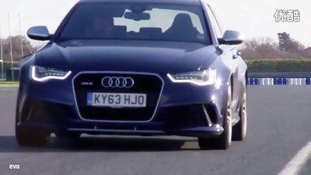 2014 奥迪 RS6 Avant vs 霍顿VXR8 Supercharged 海外对比评测