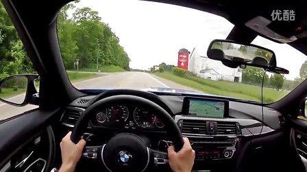 WR试驾2015宝马BMW M3 Sedan (DCT) -主视角