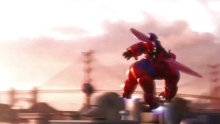 《超能陆战队》全新预告片 白胖子卖萌超能小队现身