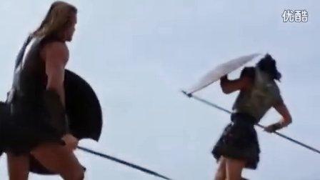 《特洛伊》片段欣赏-赫克托尔迎战阿喀琉斯