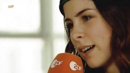 Lena Meyer-Landrut -ausführliches Interview bei ZDFBauhaus