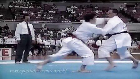 国分利人(Kokubun Toshihito)  JKA空手道组手比赛
