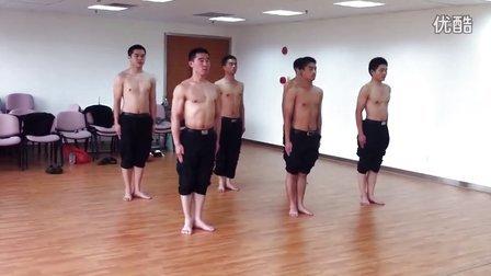 军体拳练习1