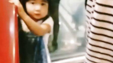 【粉红豹】曹格女儿包子姐姐曹华恩(grace):躲起来!