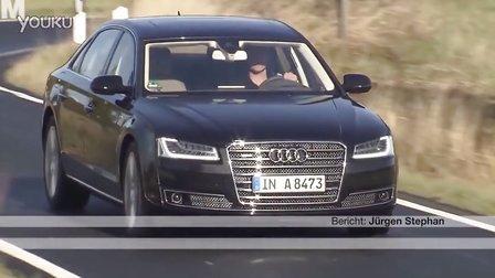 A8旗舰车型 2015 奥迪A8L W12 德国试驾评测展示