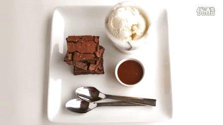 布朗尼制作教程,醇香浓厚,巧克力满满的美式美味