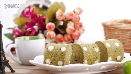 《范美焙亲-familybaking》第一季-106 抹茶波点蛋糕